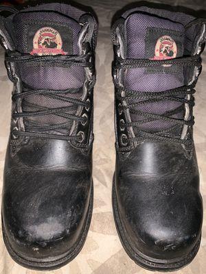 Black steel toe work boots for Sale in Santa Ana, CA