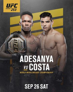 Don't Miss Out UFC 253! for Sale in Irvine, CA