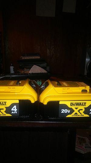 Brand new 4AH Dewalt batteries for Sale in Brooklyn, OH