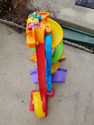 Kids toy ramp with cars for Sale in Leesburg, VA