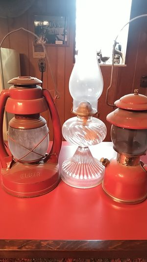 Oil lamp and lanterns for Sale in Middletown, PA