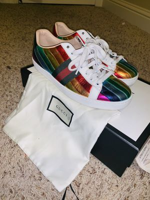 Gucci Rainbow Ace Sneakers for Sale in Vallejo, CA