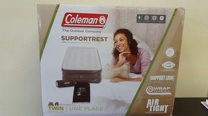 Coleman twin air mattress. Colchon de aire for Sale in Arlington, TX