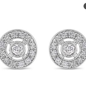 Gold Earrings with Diamonds for Sale in Los Angeles, CA