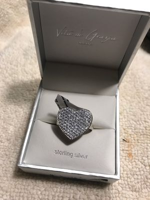 Sterling silver heart ring for Sale in Gresham, OR
