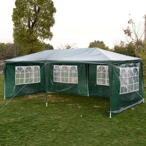 Heavy duty Outdoor Canopy Party Wedding Tent Cater Green Gazebo Pavilion for Sale in New York, NY