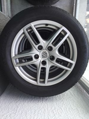 For sale Porsche Cayenne tires wheels oem 19 for Sale in Miami, FL