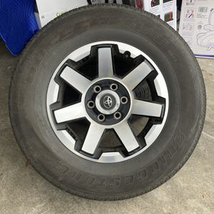5th Gen 4runner Wheels And Tires $70 Each for Sale in Maple Valley, WA