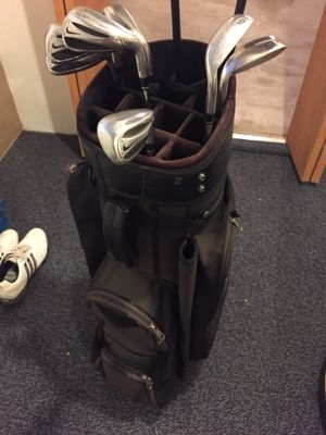 Golf Bag + Nike Clubs for Sale in Westerville, OH