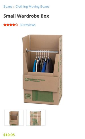 U-Haul Clothing Moving Box for Sale for sale  New York, NY