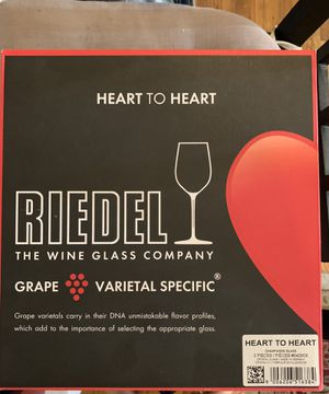 Riedel crystal champagne flutes—brand new for Sale in Hoboken, NJ