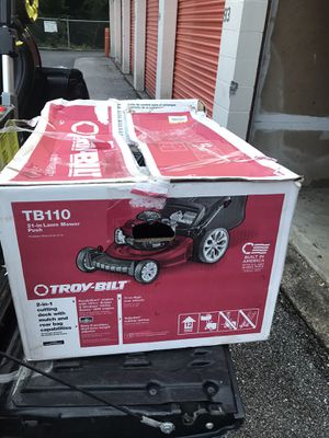 Troy Built 21 in 1 lawn mower for Sale in Baltimore, MD