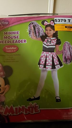 Minnie mouse cheerleader for Sale in Hayward, CA