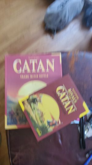 Settlers of Catan and Rivals of Catan full set! for Sale in Long Beach, CA