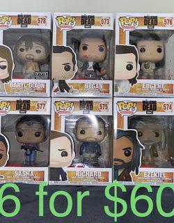 The Walking Dead FunkoPop for Sale in Fresno,  CA
