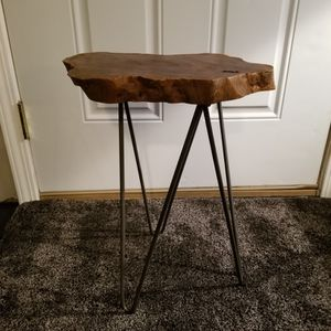 Wood And Iron Stand for Sale in Kirkland, WA