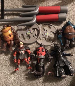Teenage Mutant Turtle Toys for Sale in Shoreline, WA