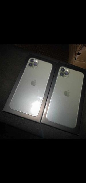 iPhone 11 pro max 64Gb and 256Gb for Sale in Cadillac, MI