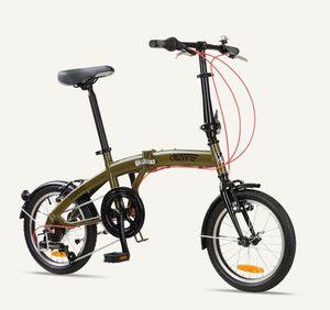 "Bike 16"" 6-speed Folding Bike with Ultra-Portable Frame for Sale in Washington, DC"