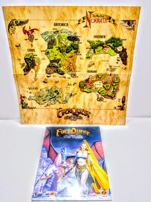 EVERQUEST MANUAL MAP for Sale in Garland, TX