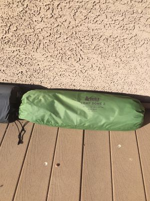 Camping tent Rei dome 2.5 + mattress! for Sale in Las Vegas, NV