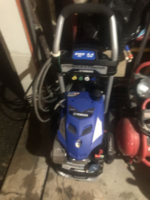 Yamaha power washer. 3100 psi 2.4 Gpm electric starter for Sale in Elk Grove Village, IL