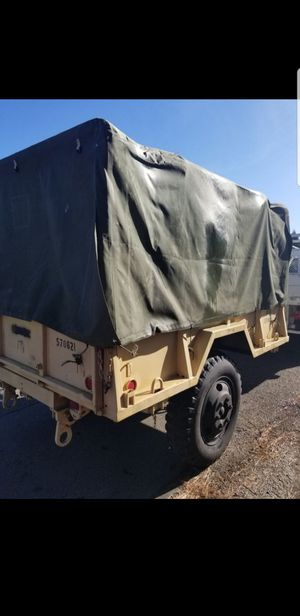 M105 Military trailer heavy duty for Sale in Tacoma, WA