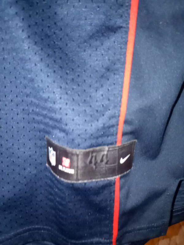 A Patriots Gronkowski football jersey