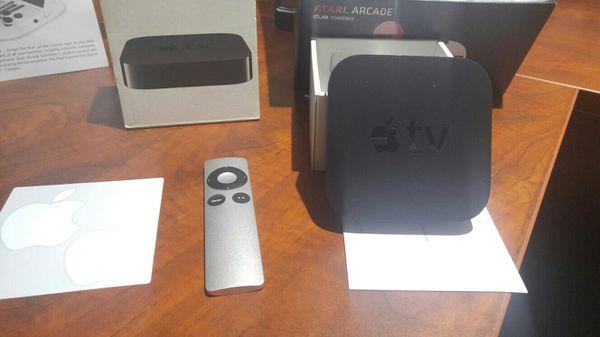 Apple tv and joy stick for ipad like new