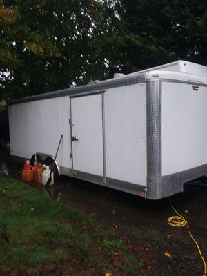 22 ft continental cargo covere trailer for Sale in Brush Prairie, WA