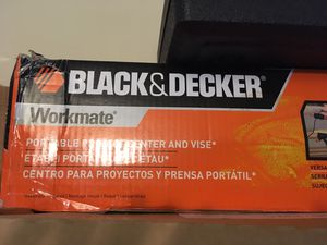 Black and decker workmate work table for Sale in Atlanta, GA