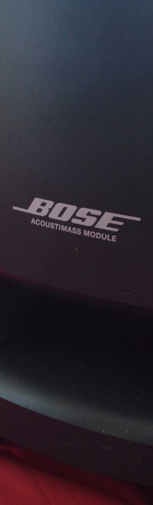 Bose Acoustimass Module Digital Home Theater Speaker System for Sale in Corona, CA