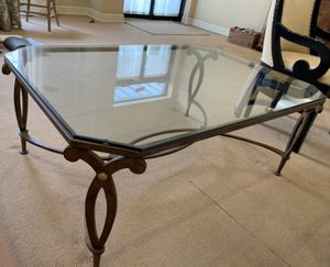 Glass Coffee Table for Sale in East Liberty, PA