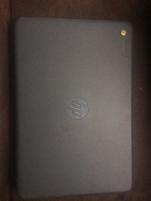 "New HP 14"" Touchscreen Chromebook Intel Celeron/4GB Grey for Sale in Houston, TX"