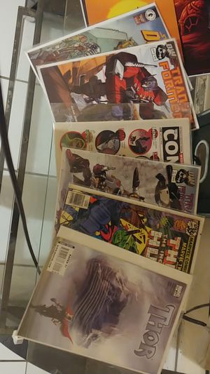 New comics still in its bag for Sale in Riverside, CA
