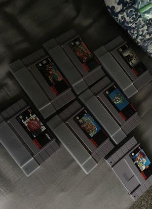 1991 Super Nintendo Games for Sale in Marietta, GA