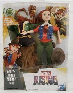 Hasbro Marvel Rising Secret Warriors Secret Identity Doreen Green Squirrel Girl Doll for Sale in Fresno, CA