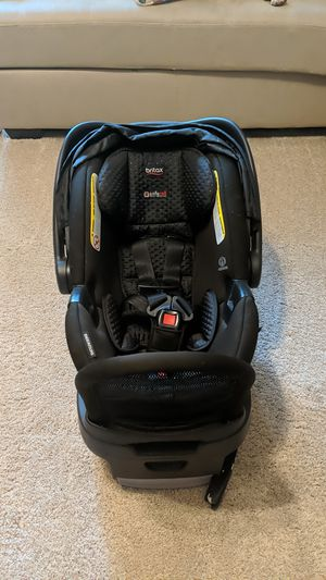 Britax Car Seat and rebound bar - Endeavours B-Safe Ultra for Sale in Willow Spring, NC