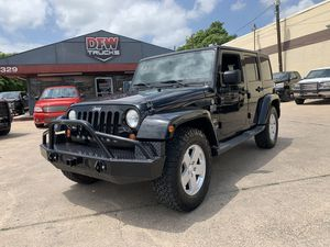 2011 Jeep Wrangler Unlimited for Sale in Garland, TX