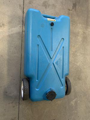 22 Gallon Portable RV Tote Along Drain Water Tank. for Sale in Alpine, CA