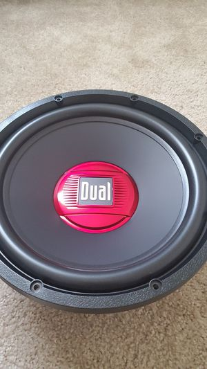 12 inches subwoofer dual New for Sale in Wheaton, MD