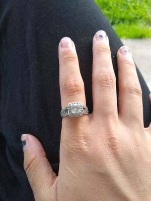 Sterling silver engagement ring for Sale in New Milford, PA