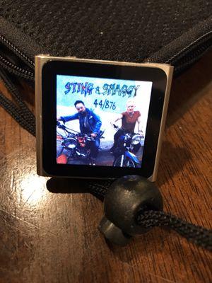 iPod Nano 6 (8GB) + 1000+ Songs + EarPods for Sale in San Diego, CA