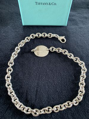 Tiffany & Co. Oval tag choker necklace for Sale in San Diego, CA