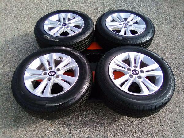 Hyundai - Sonata / 4Dr Sedan / 2011 To 2015 / Wheels & Tires 16 inch Oem $685