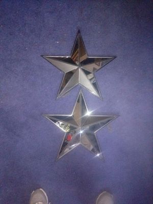 2 mirror star wall decor for Sale in Houston, TX