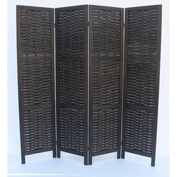 Rustic Woven 4-Panel Room Divider for Sale in Inglewood,  CA