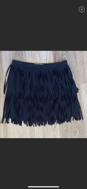 NEW🖤 black fringe skirt for Sale in Gulf Stream, FL