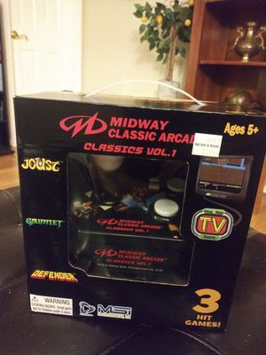 Classic Arcade Games Plug N Play for Sale in Gaithersburg, MD