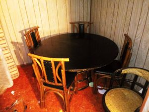 Free table and 4 chairs for Sale in Tumwater, WA